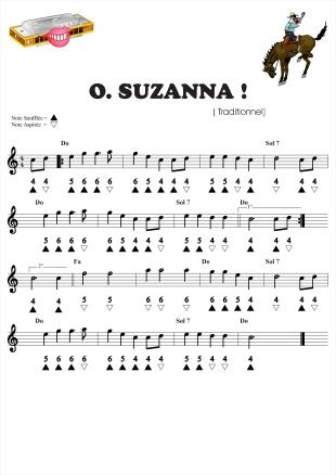 Harmonica oh susanna harmonica tabs : Harmonica : harmonica tablature facile Harmonica Tablature Facile ...